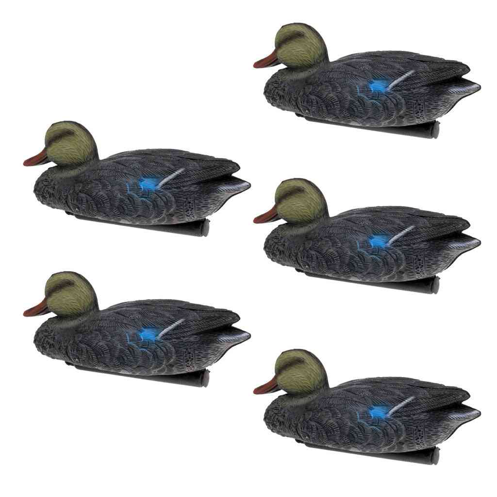 5 Pieces 3d Lifelike Floating Duck