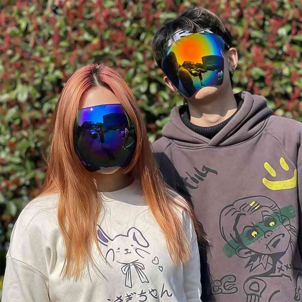Novelty Full-face Multicolor Goggles With Removable Nose Bridge