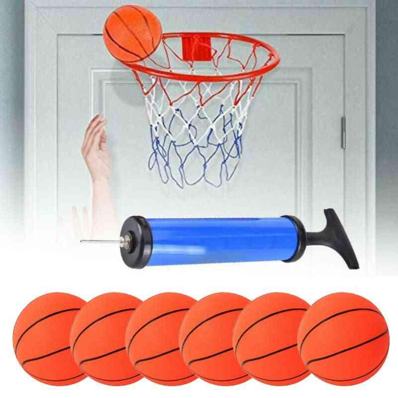 Basketball With Pump. Basketballs Sports Parent-child Games