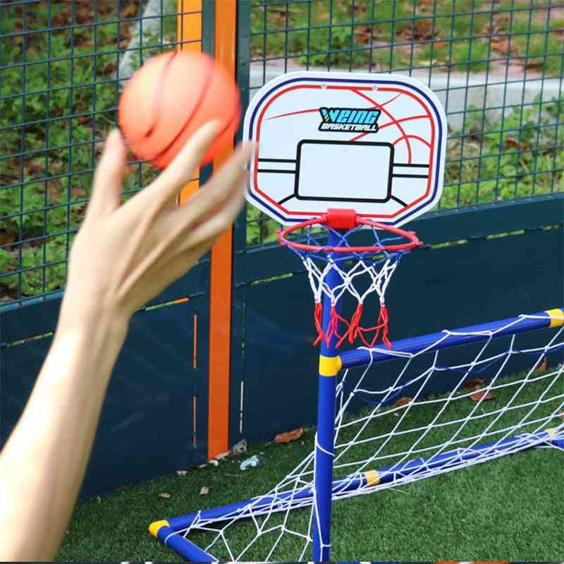 Children Basketball Hoop. Outdoor Sports Football Goal