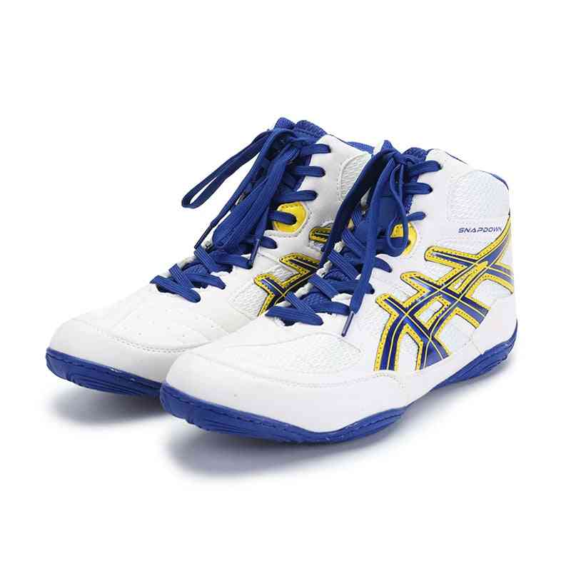 Boxing Shoes For Men's,  High Top Fighting Shoes