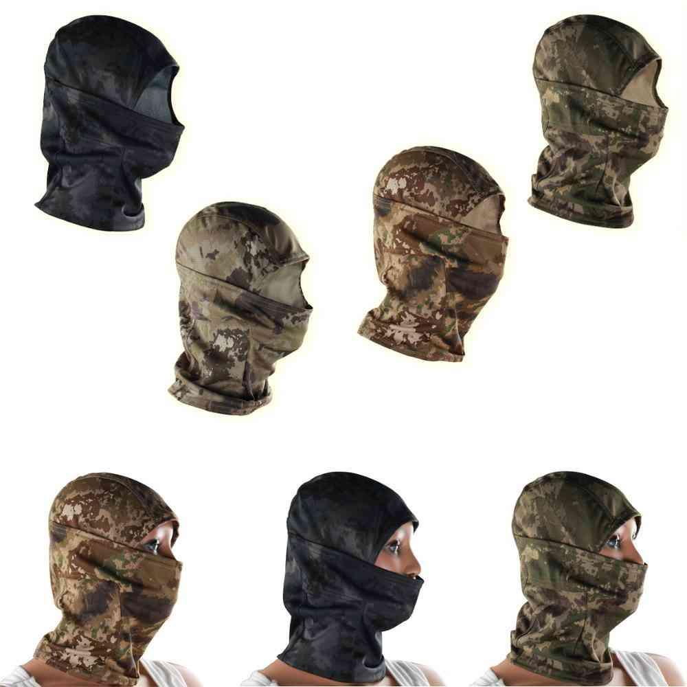 Multi-functional Camouflage Hood Mask