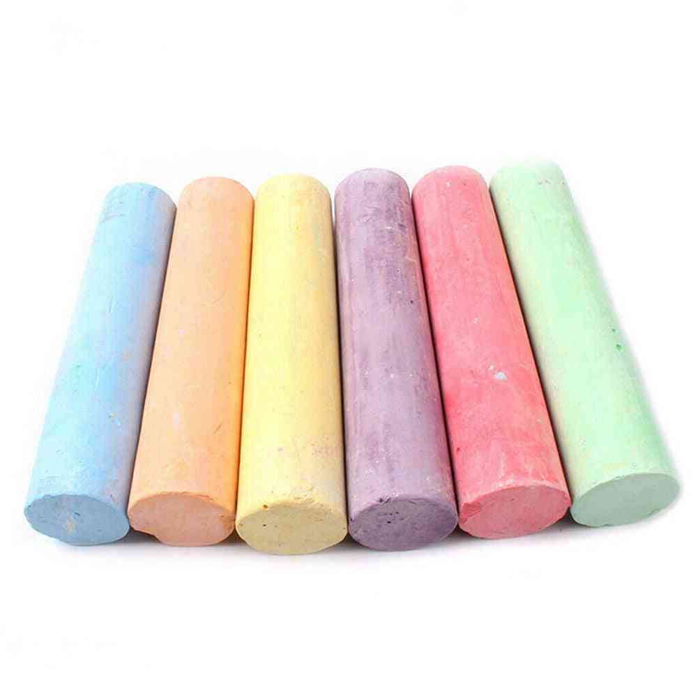 Mixed Colour Dustless Chalk Sticks Pack Water