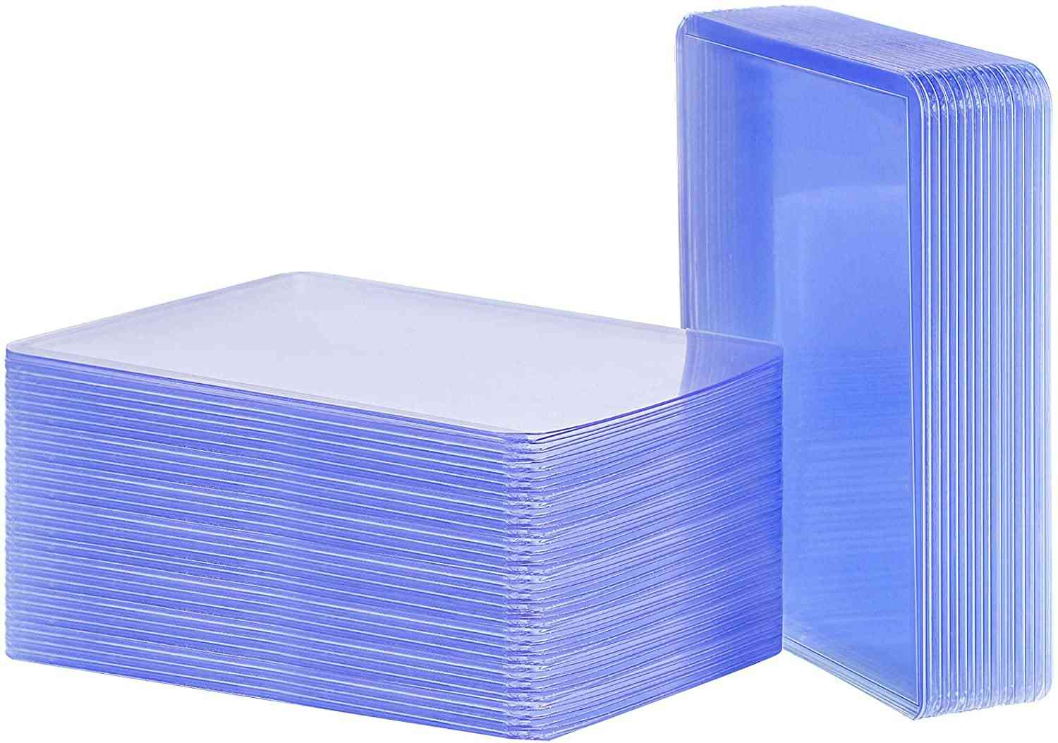 25 Count Holder Toploaders Clear Protective Sleeves For Collectible