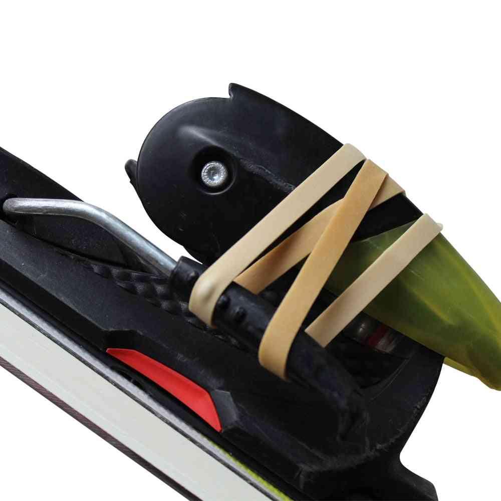 Ski Brake Retainer Rubber Edge Tuning.