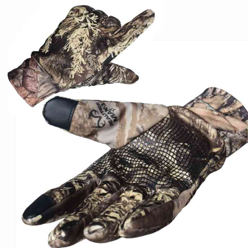 Touch Screen Tactical Gloves, Army Full Finger Elastic Gloves