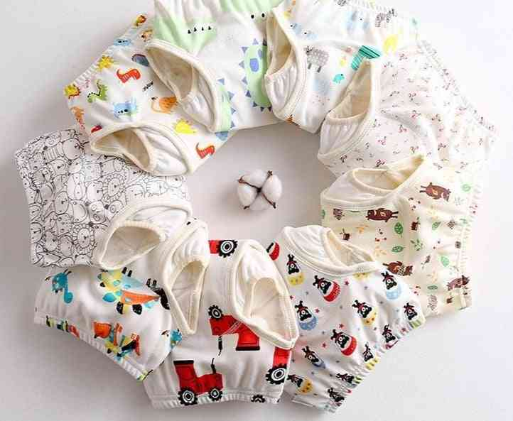 Baby Diapers Reusable Cloth Nappies Waterproof Newborn Cotton Diaper Cover