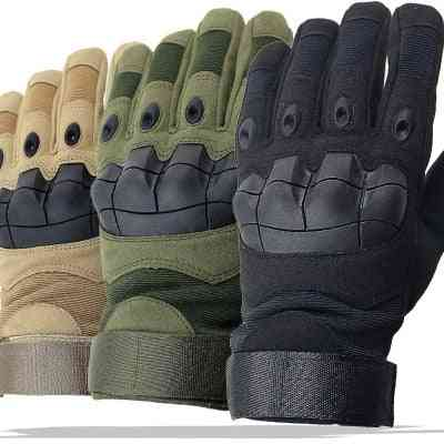 Army Combat Tactical Gloves, Full Finger Camouflage Gloves