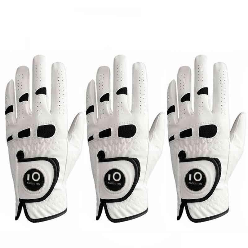 Weather Grip Golf Gloves, Leather Ball Marker Hand Glove