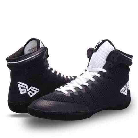New Quality Wrestling Shoes, Breathable Wrestling Boxing Shoes