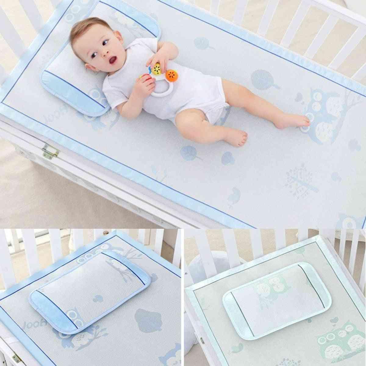 Baby Ice Silk Mats Kindergarten Mat Baby Crib Breathable Mat For Bed