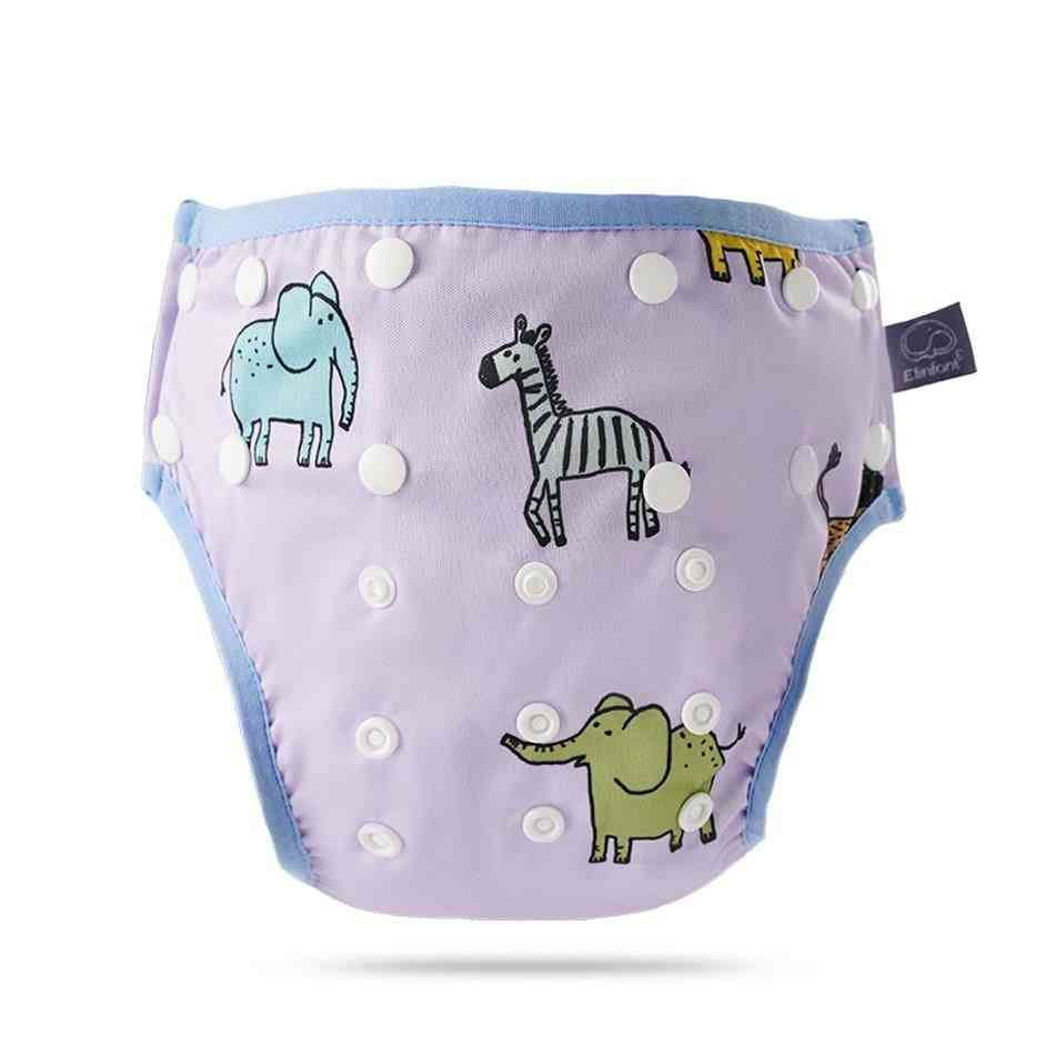 Baby Pants Waterproof Adjustable Cloth Diapers Pool Cloth Diaper Washable Baby