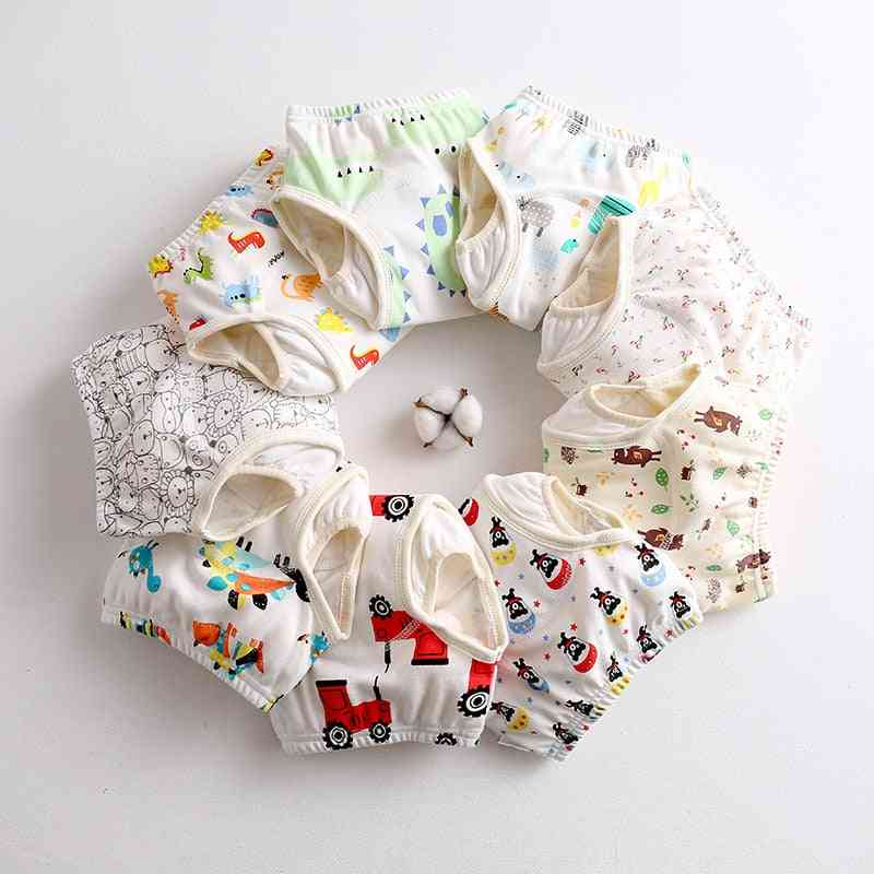Baby Diapers Cloth Nappies Waterproof Newborn Cotton Diaper Cover For