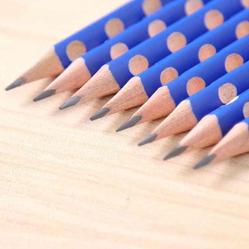 Triangle Wooden Pencill School Office Stationery