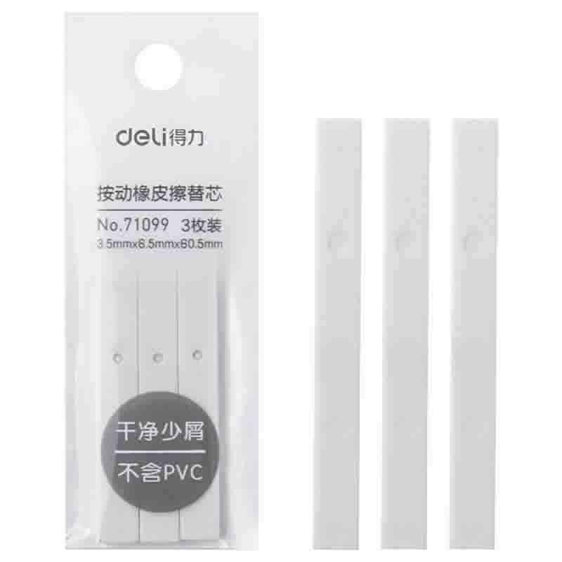 Deli Press Retractable Pencil Eraser
