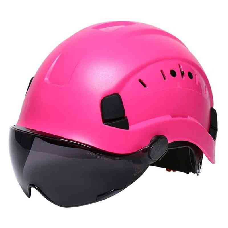 Protective Helmet With Goggles