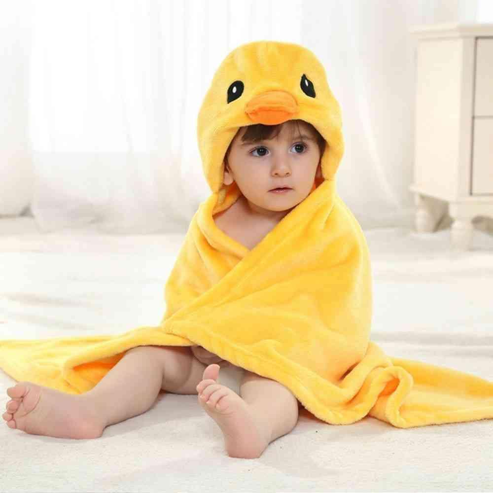 Newborn Bathrobe Cloak Baby Towel
