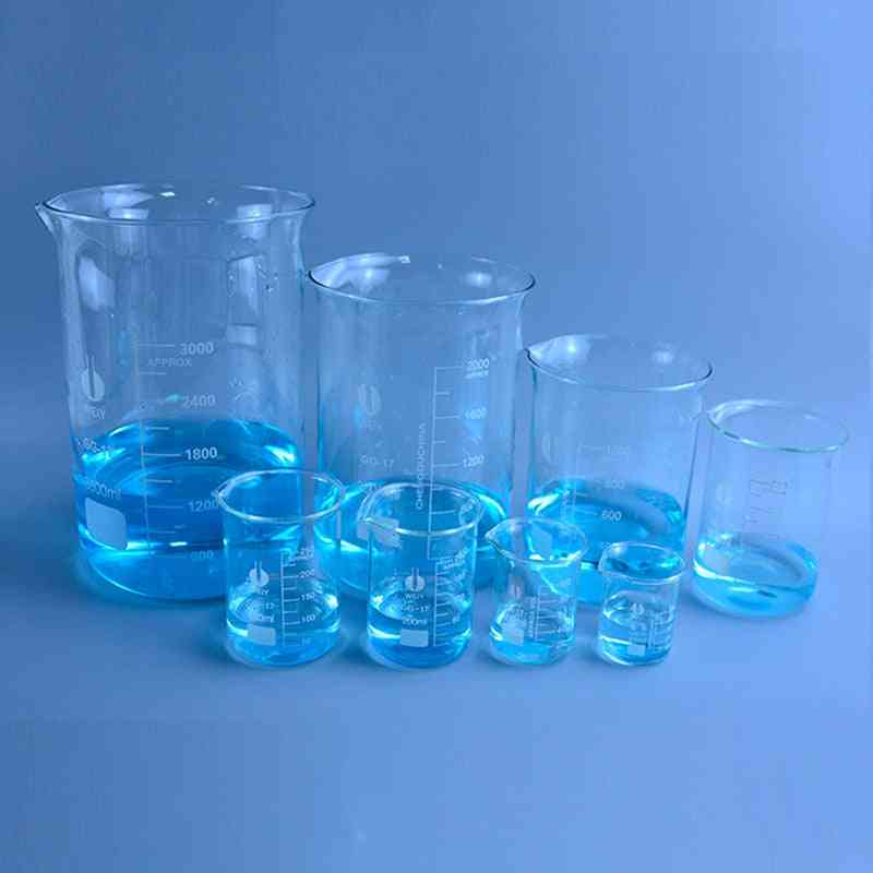Transparent Beaker Flask