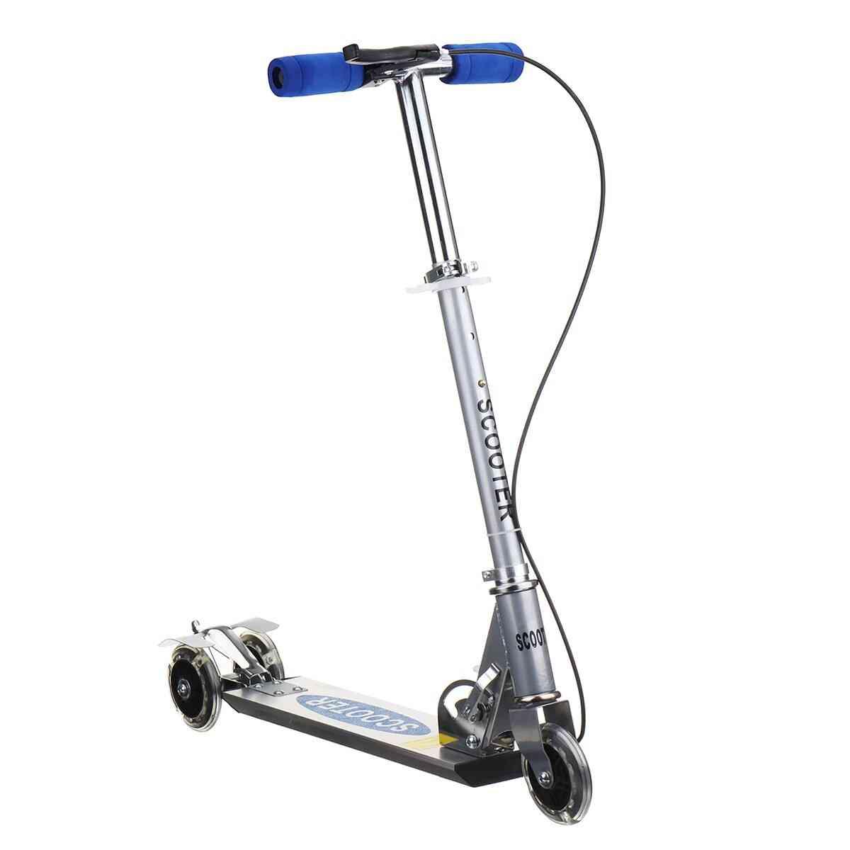 Adjustable Foot  Kids Unisex Kick Scooter 3 Wheel City Roller