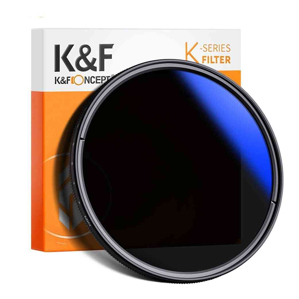 37-82mm Nd2 To Nd400 Nd Lens Filter Fader
