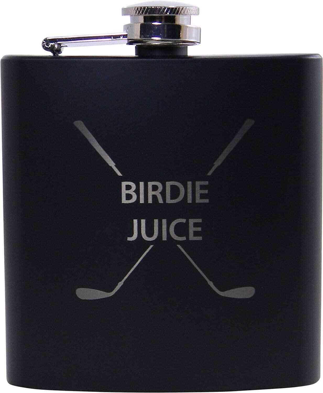 Golf Birdie Juice Flask Birthday Valentines For Golfers