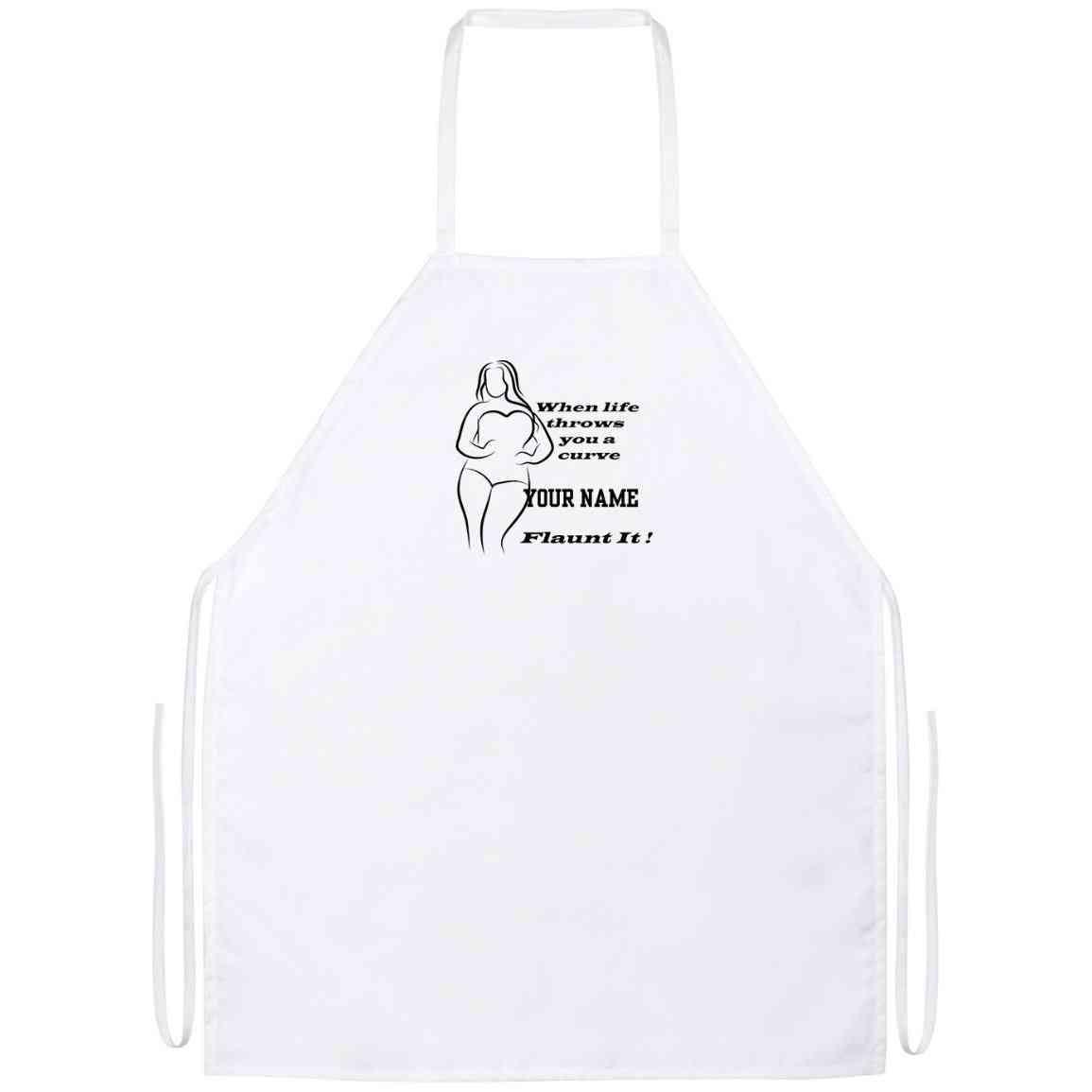 Kitchen Apron Fun Plus Design