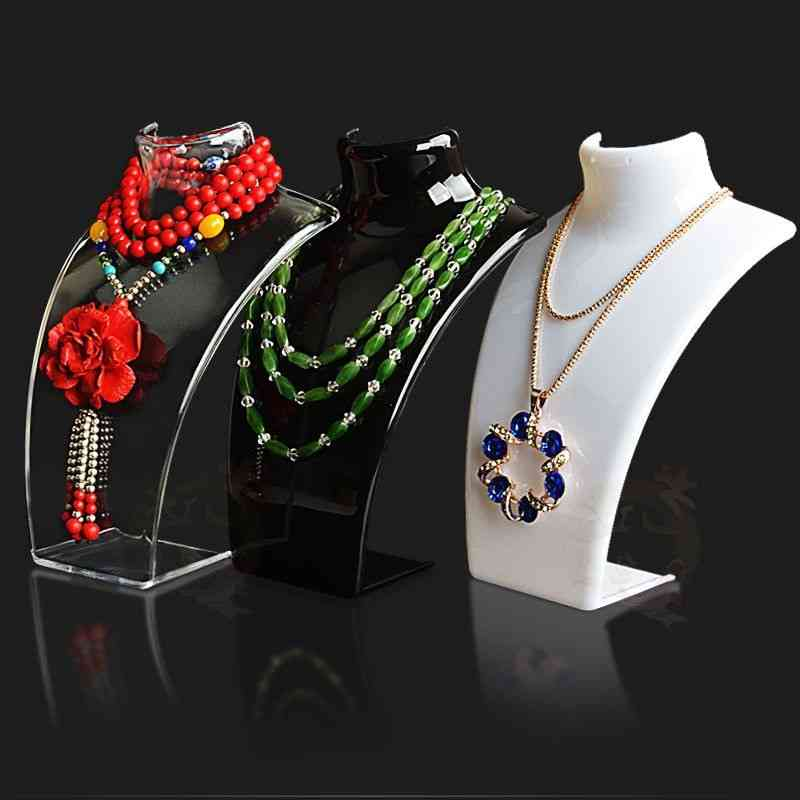 Mannequin Necklace Jewelry Pendant Display Stand