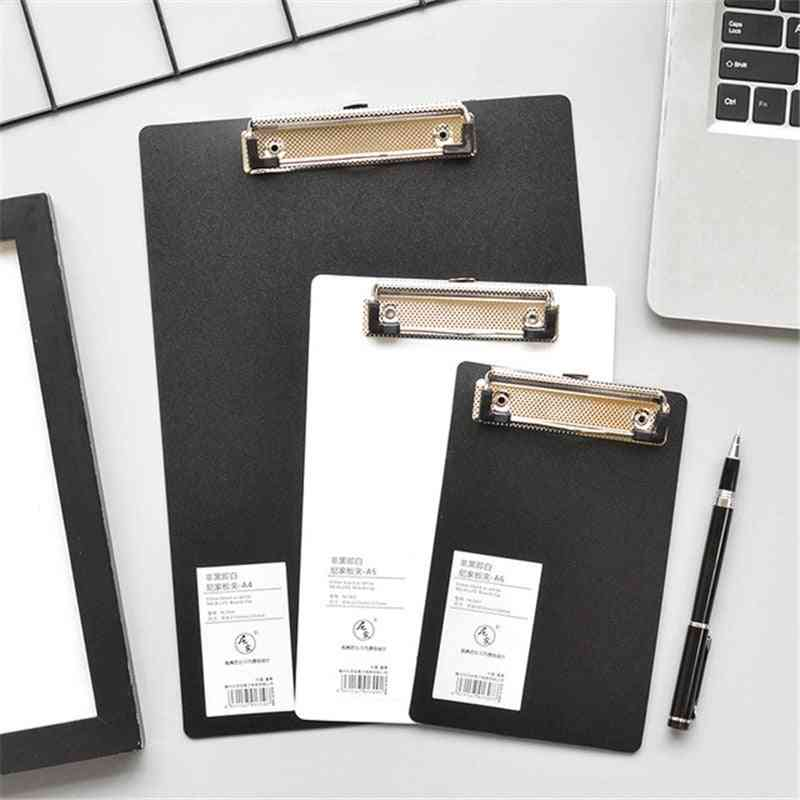 Clipboard Writing Sheet Pad Clip Board/document Holders