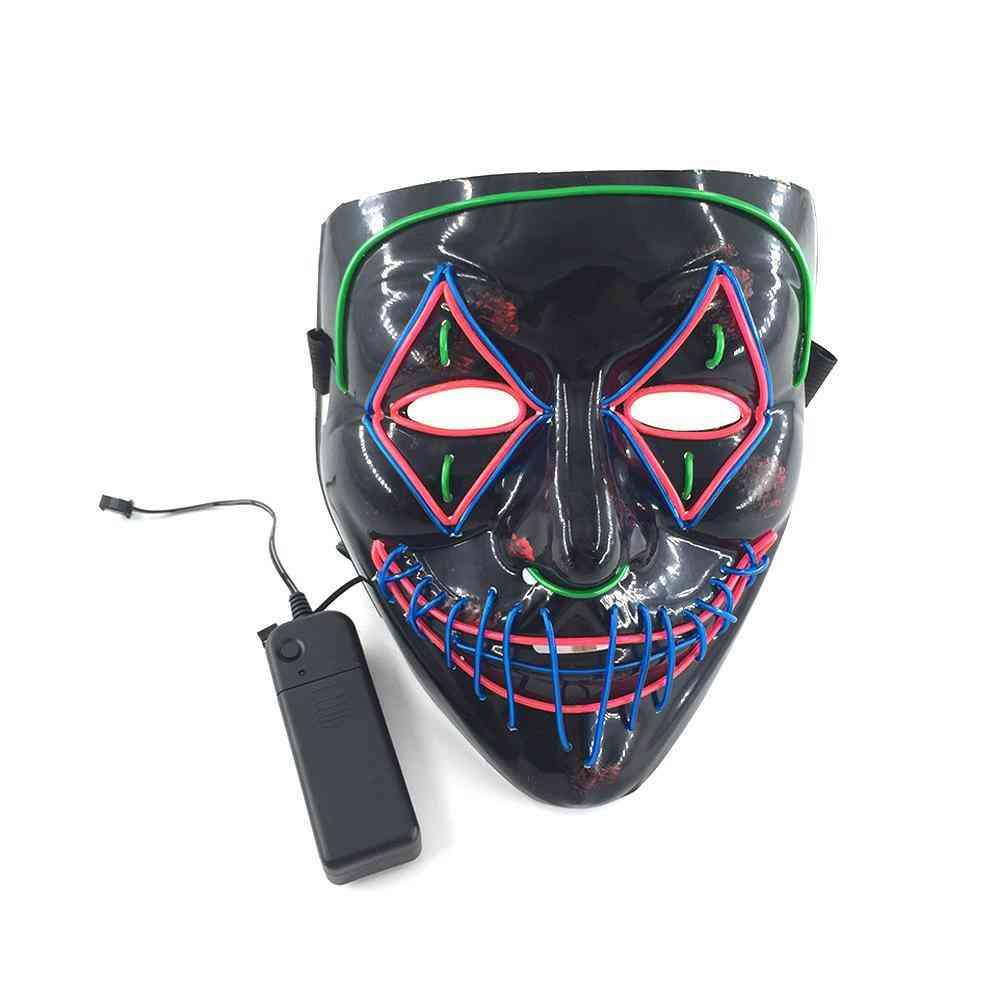 Halloween Led Glowing Mask