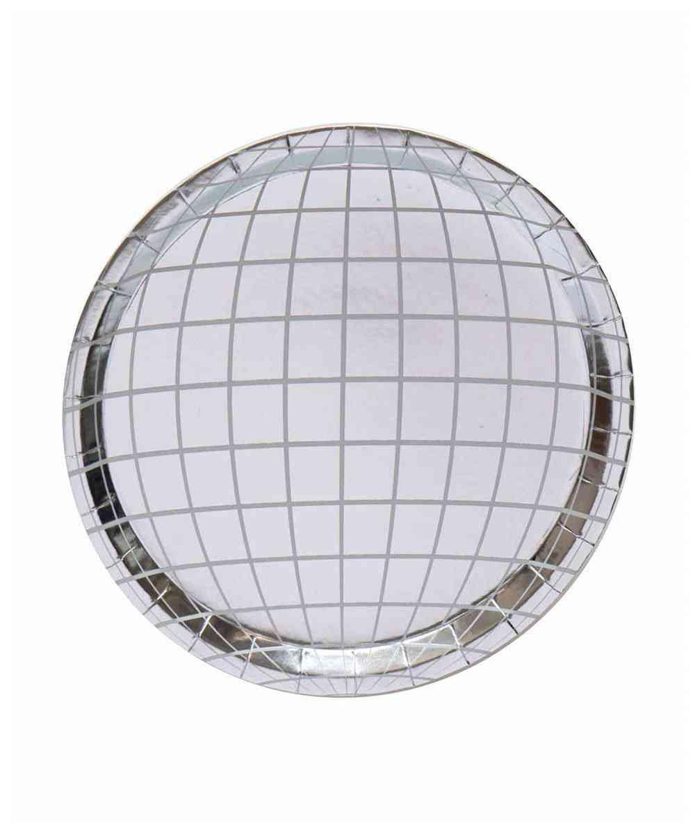 Oh Happy Day Disco Ball Plates