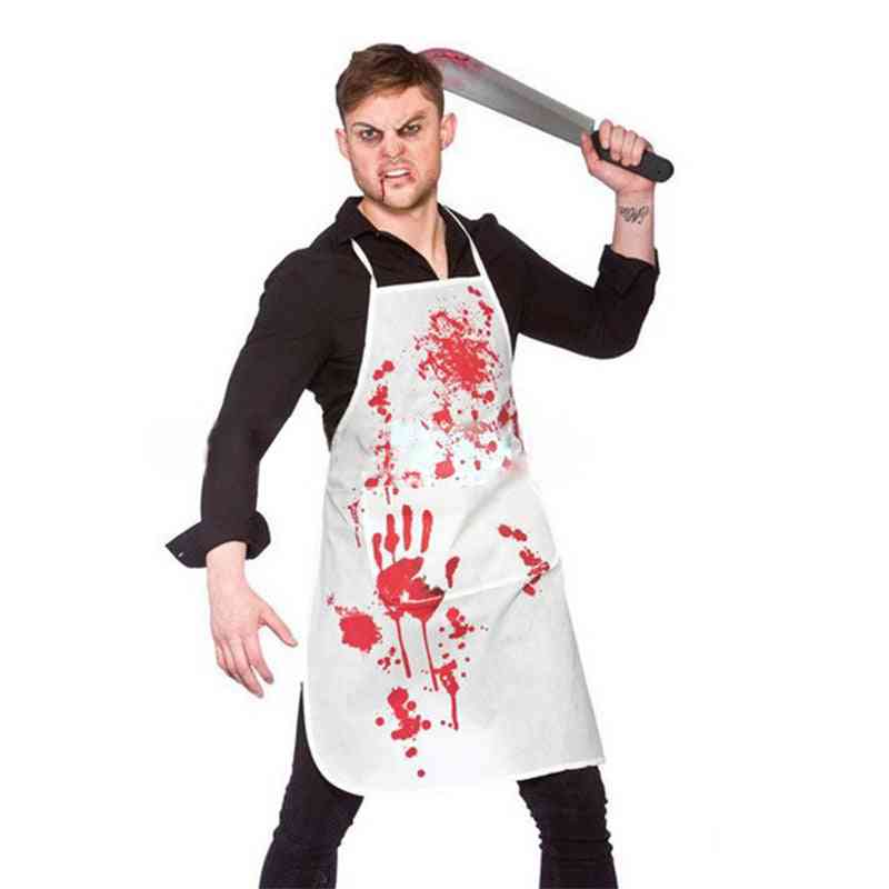 Halloween Adult Bloody Butcher Role Play Dress