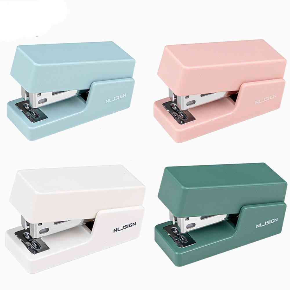 Deli Mini Stapler Machine With Staples 24/6 26/6 Samll Fashion Paper Stapler For Stationery Office Accessories School Supplies