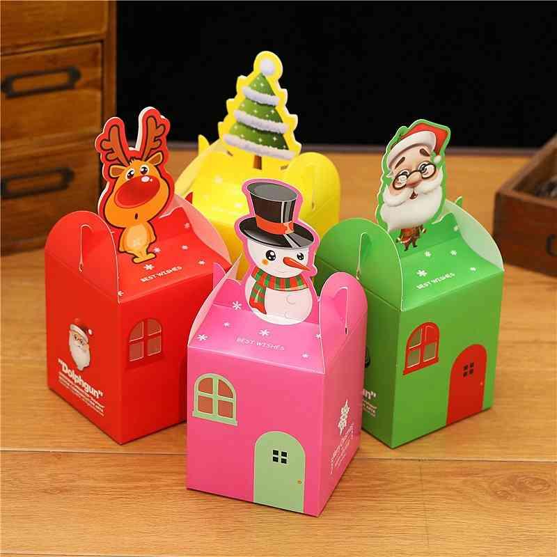 Cute Christmas Apple Boxes