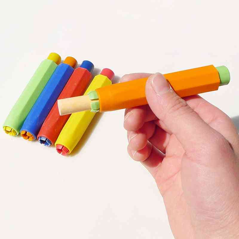 Non-toxic Chalk Colorful Holder Clips