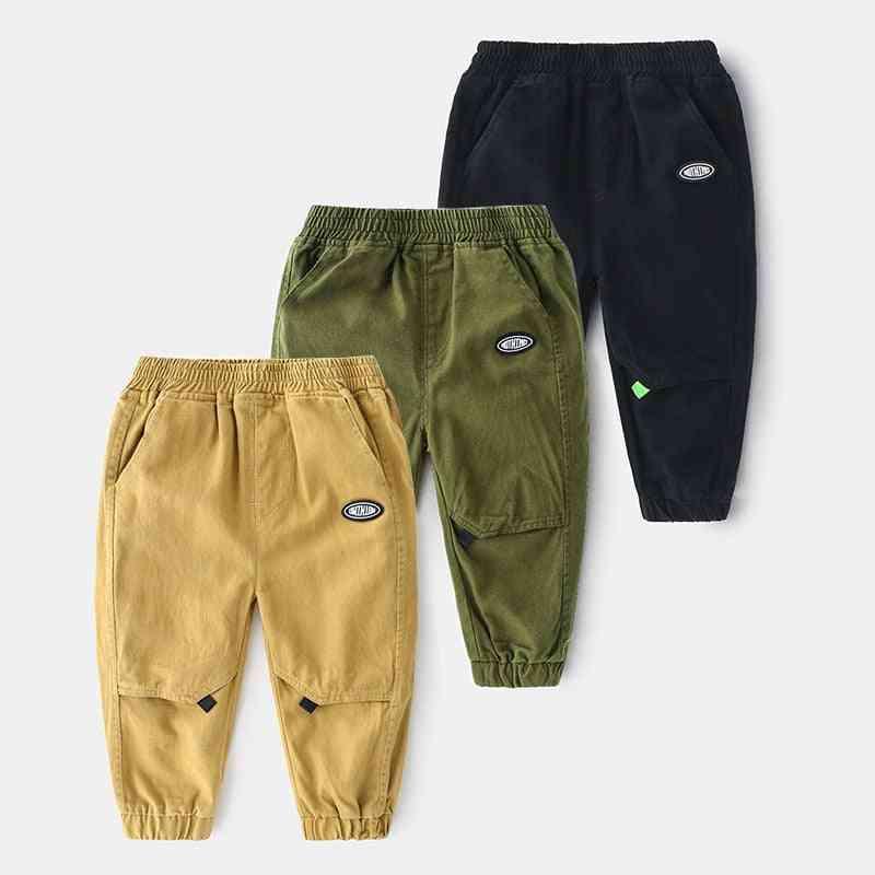 Boy Trousers Pants For Sweatpants Cotton Long Trousers