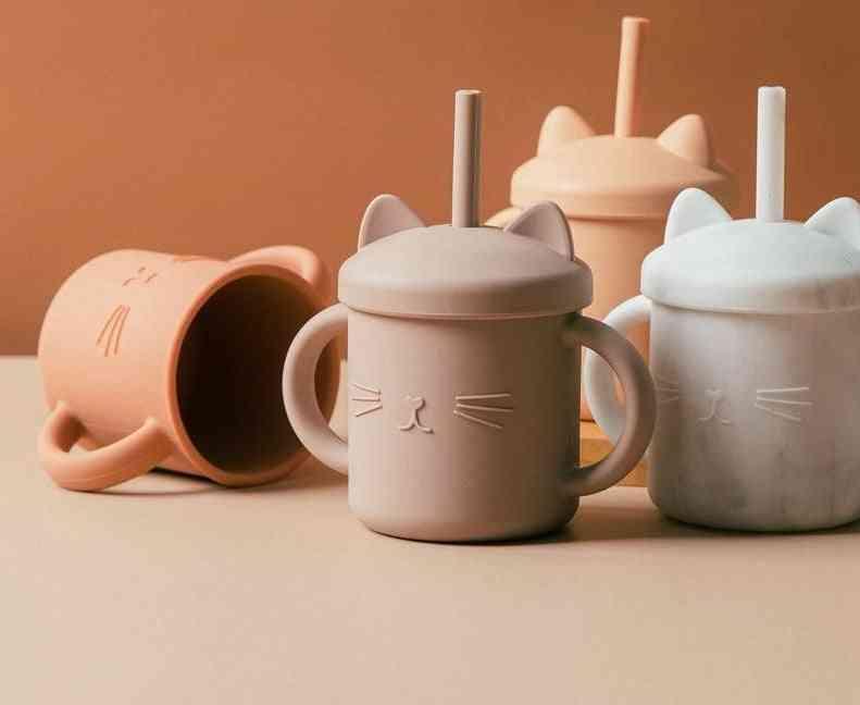Baby Feeding Drinkware Straw Cup