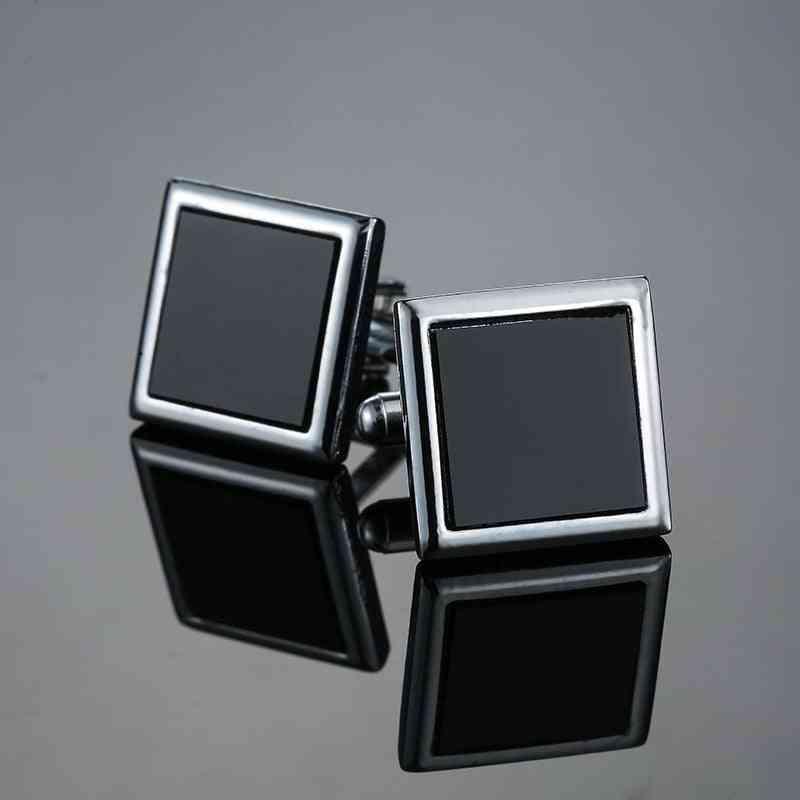 Classic Men's New Black Box Cufflinks