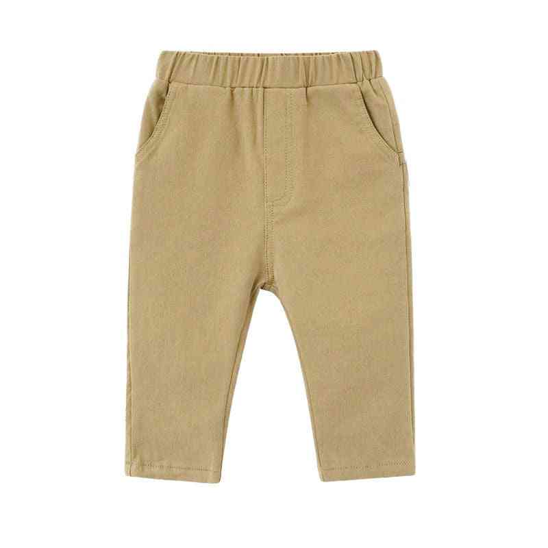 Baby Pants Trousers Boys Cotton Washing Casual Pants