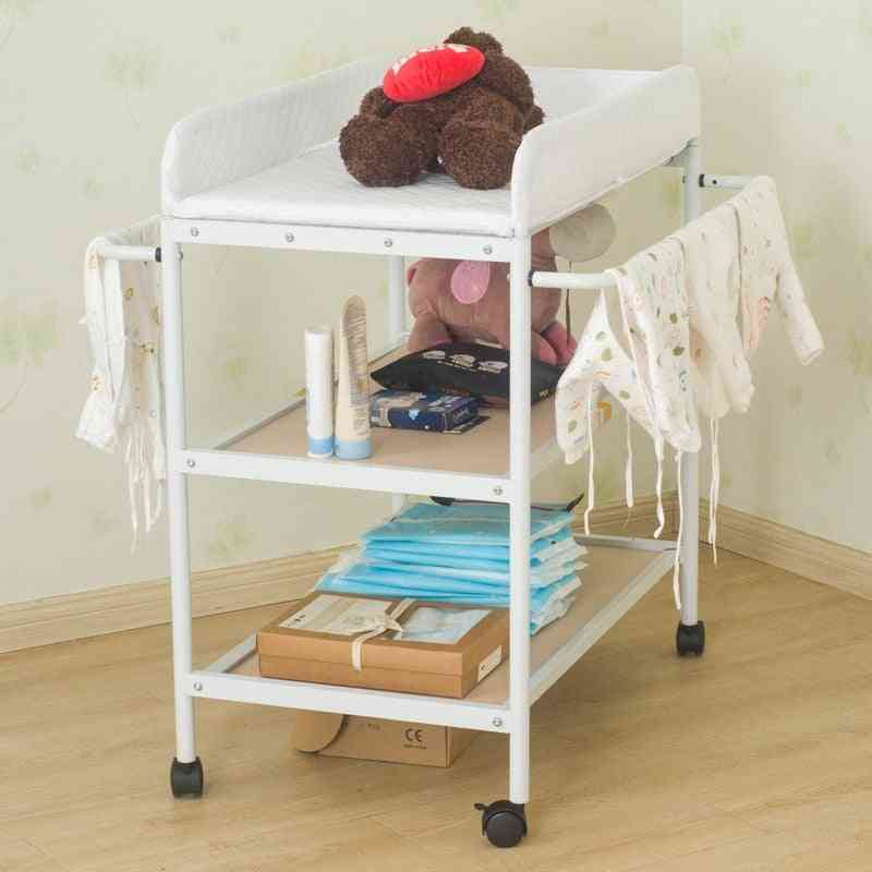 Baby Crib/cot Baby Diaper Changing Table Clothes Multi-function Newborn