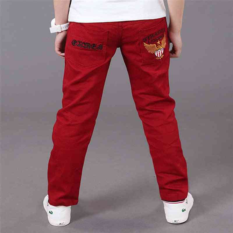 Casual Cotton Elastic Pants