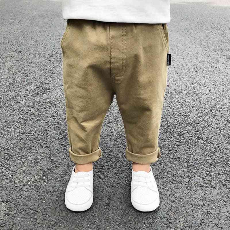 Boys Cotton Washing Casual Pants