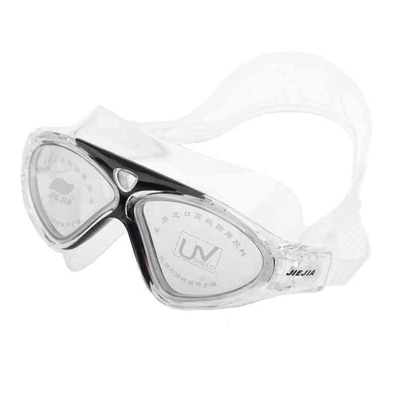 Waterproof Swim Glasses, Electroplate Swimming Goggles