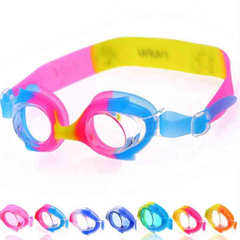 Cartoon Fish Silicone Swimming Goggles
