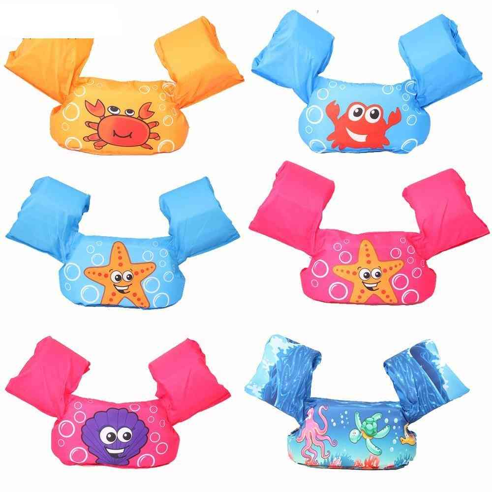 Life Jacket Sleeves Armbands Floats Foam Safety Swimming Ring
