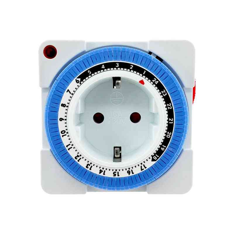 Mechanical Grounded Programmable Timer Switch