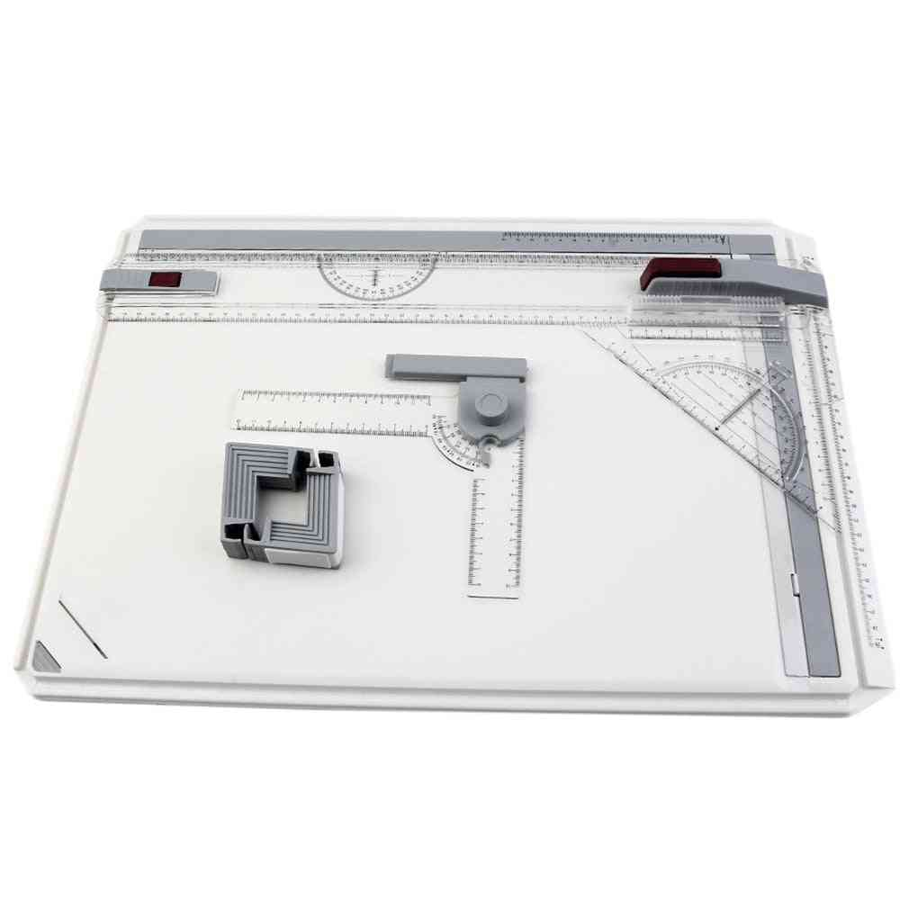 Drawing Board Draft Painting Board With Parallel Rulers