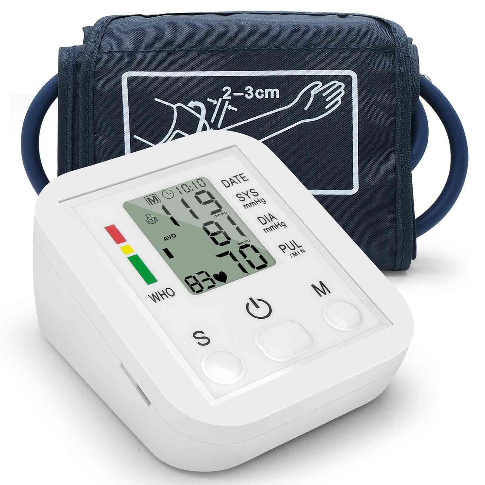 Blood Pressure Monitor Digital Meter Tonometer