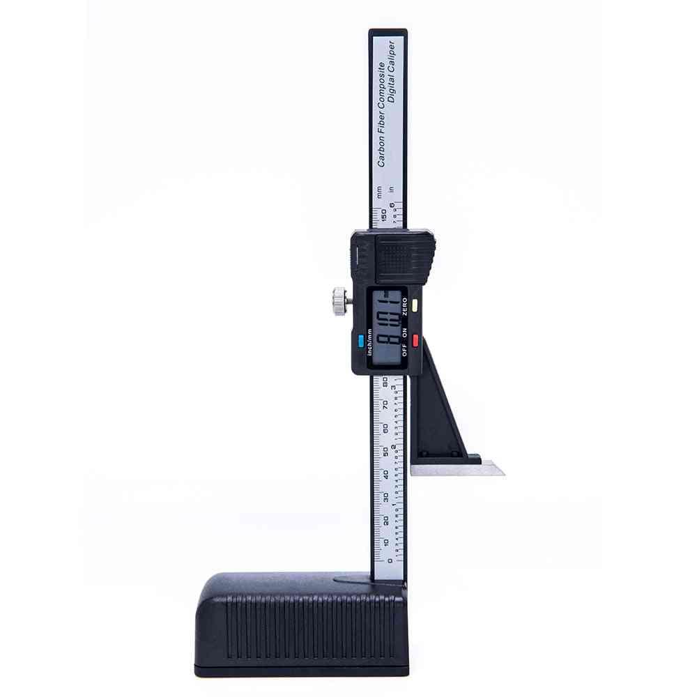 Electronic Digital Height Vernier Caliper Ruled Ruler
