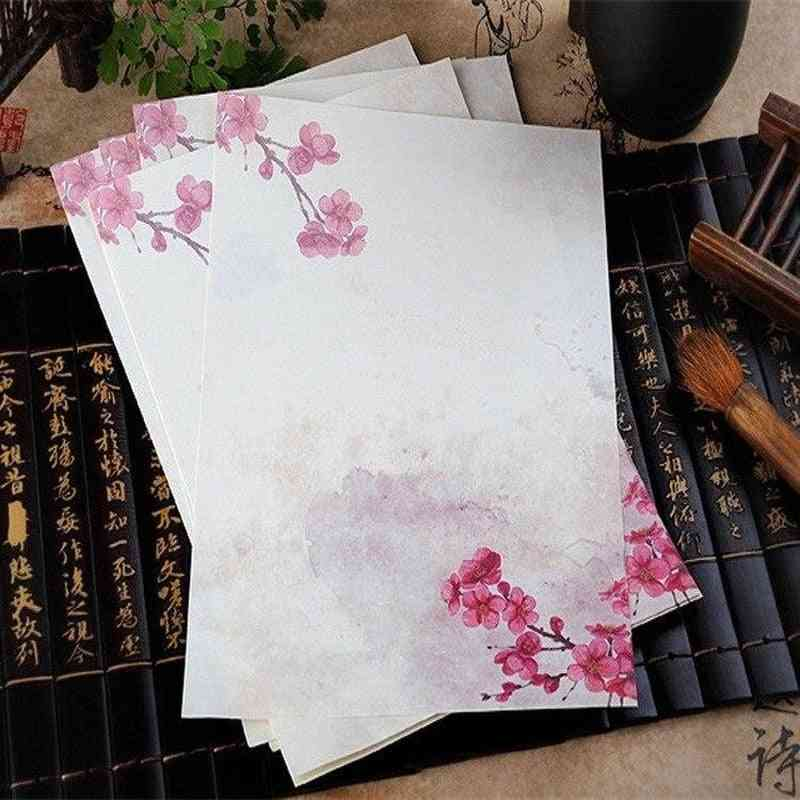 Flower Pattern Writing Paper