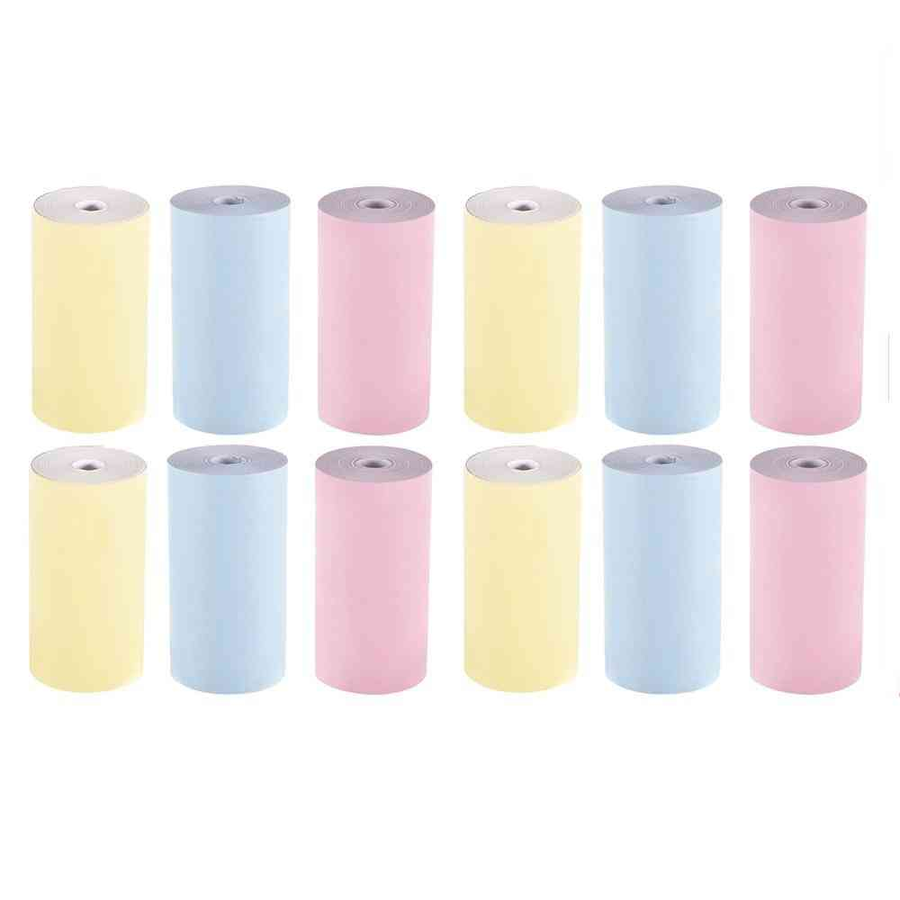 Roll Printable Thermal Paper Roll For Peripage A6 Thermal Printer